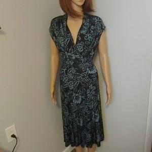Karen Kane floral dress size M medium